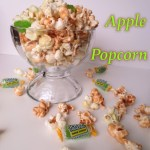 Green Apple Jolly Rancher and Caramel Popcorn