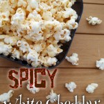 Spicy White Cheddar Popcorn