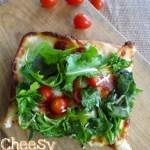 Cheesy Herb Pizza