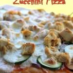 Thai Chicken Zucchini Pizza