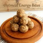 Oatmeal Energy Bites