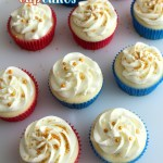 White Almond Cake or Cupcakes Recipe