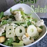 Ghostly Caesar Salad