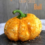 Pumpkin Cream Cheese Ball