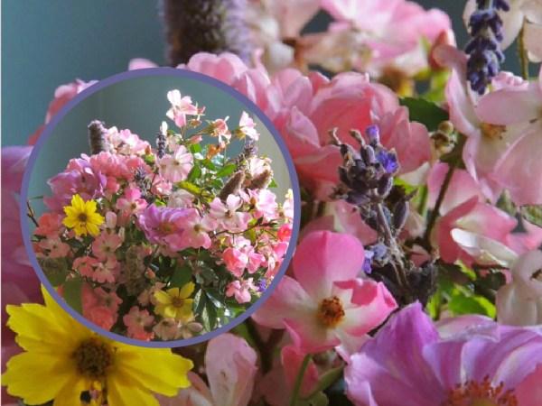 big fairy rose vase