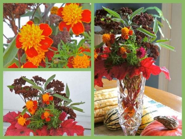 late marigold vase