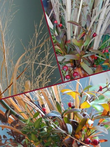 mid dec vase collage