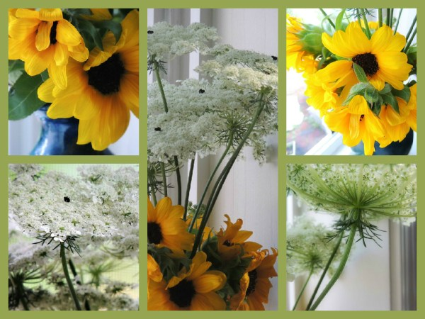 QAL vase collage
