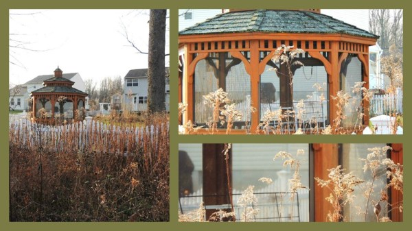 gazebo from meadow collage