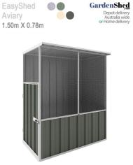 EasyShed Bird Aviary Cage Green