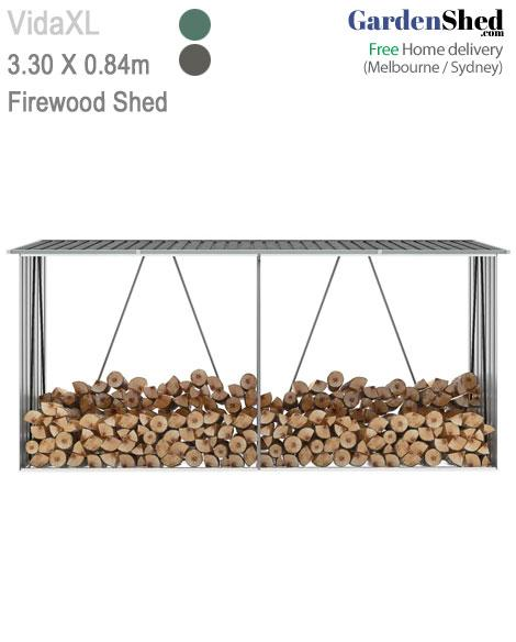Firewood Shed 330 x 084
