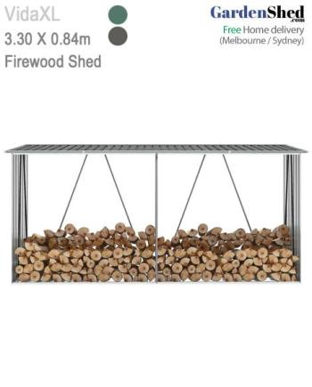 Firewood Shed 330 x 084