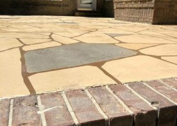 beautiful patio brick
