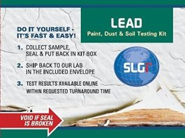 lead soil testing kit