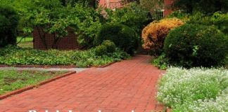 Brick Landscaping Ideas for Front Yard