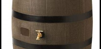 Flat-Back Rain Barrel Woodgrain Review