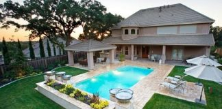 Great Pool Landscape designs Ideas