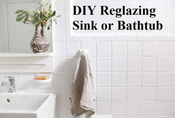 DIY Reglazing Sink or Bathtub