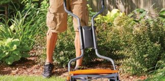 Fiskars StaySharp Max Reel Lawn Mower Review