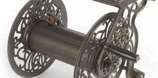 Cast Aluminum Wall Mounted Garden Hose Reel Review