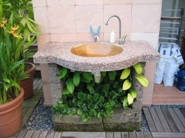 Best Types Of Outdoor Sink for Garden