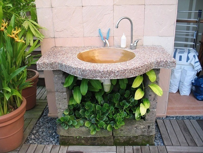 Best Types Of Outdoor Sink for Garden