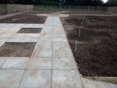 25th September 2014: The groundwork is completed