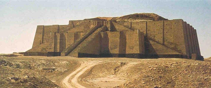 The ziggurats of Mesopotamia