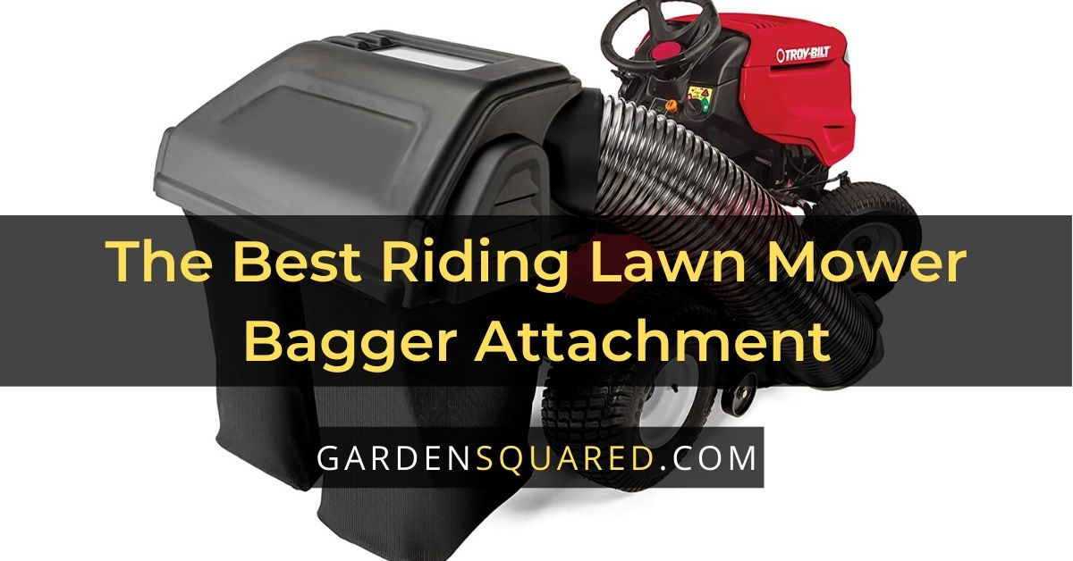 Best Riding Lawn Mower Bagger