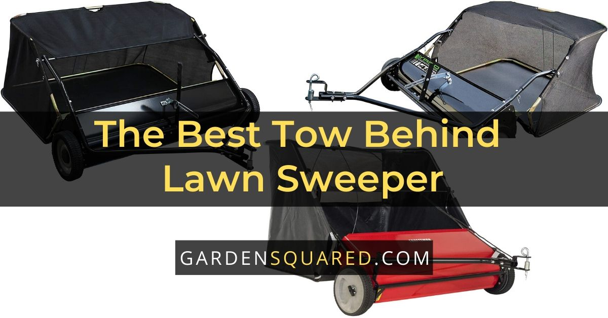The Best Tow Behind Lawn Sweeper