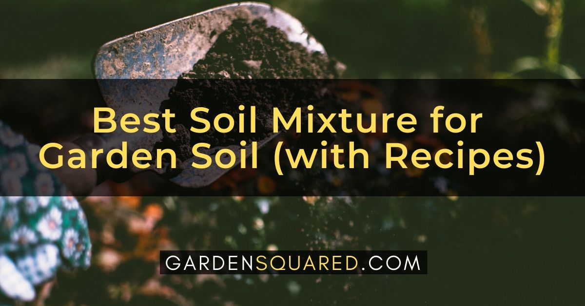 Best Soil Mixture For Garden Soil With Recipes