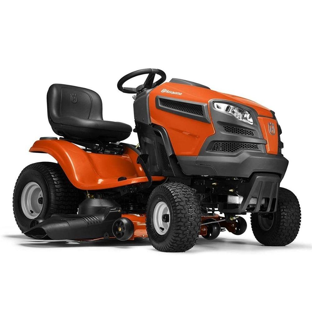 ride-on  lawnmower