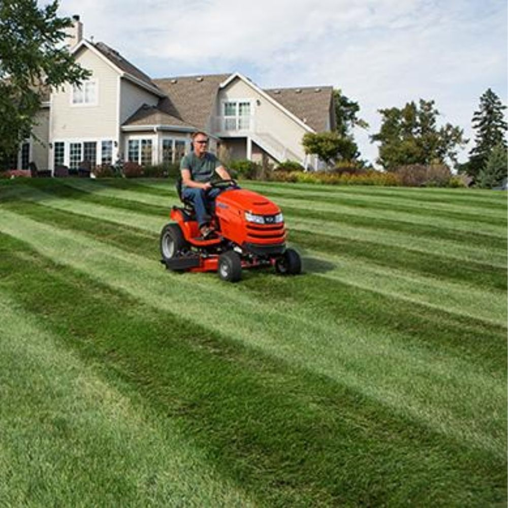 Making Lawns with Stripes