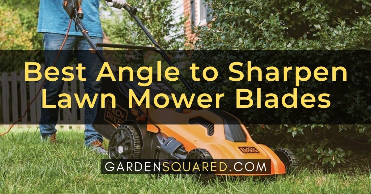 Best Angle To Sharpen Lawn Mower Blades