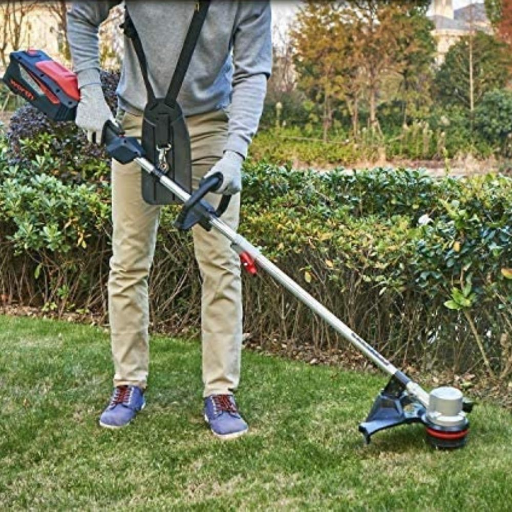 Worth Most PowerMax 84V Cordless Lithium Brushless Grass Weed & Lawn Trimmer