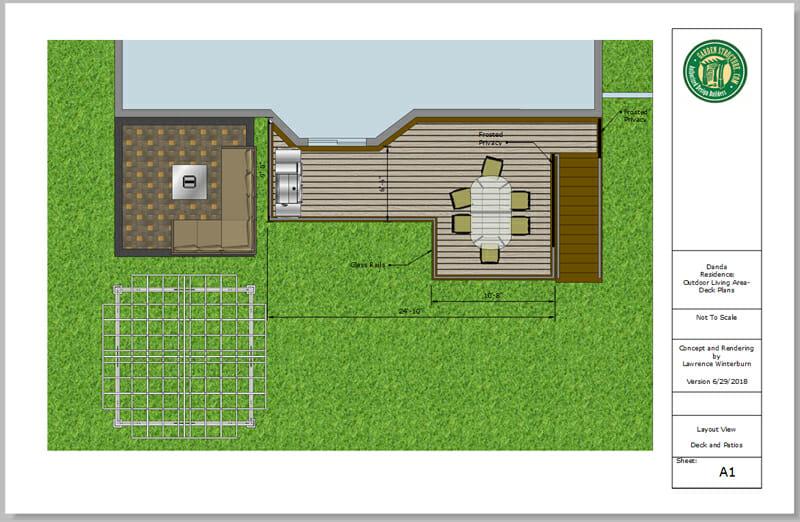 design services sample layout