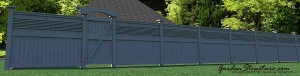 Looking for different style fences ...