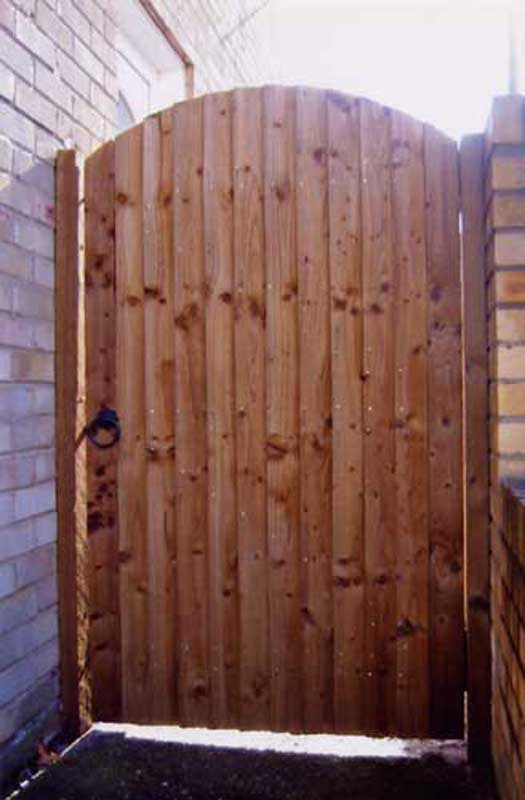 Timber Gates Ashford Fencing And Gardening Services