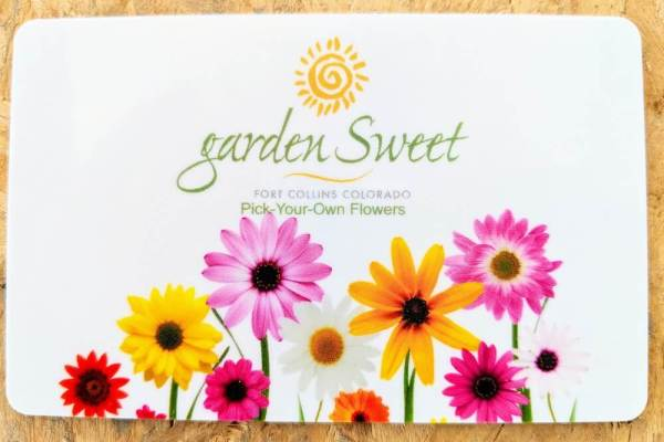 Pick Your Own Flowers Gift Card