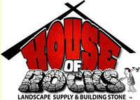 House of Rocks Landscape Supply and Building Store Logo