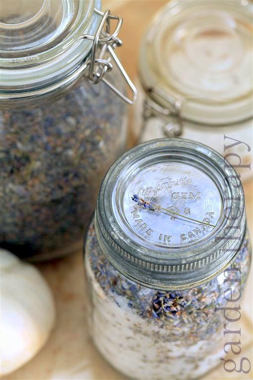 Easy Homemade Bath Salts Recipe Garden Therapy