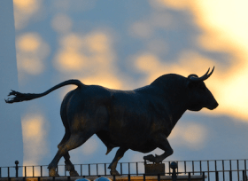 The bull, the symbol of Spain
