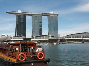 Cruising on the Singapore River