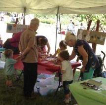 Children's activity Lanyon plant fair