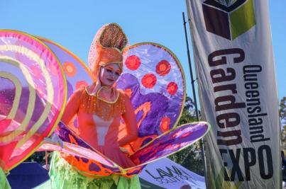 Queensland Garden Expo entertainment