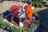 Queensland Garden Expo fun sculpture