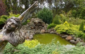Lady of the Lake in The Boomerangs garden