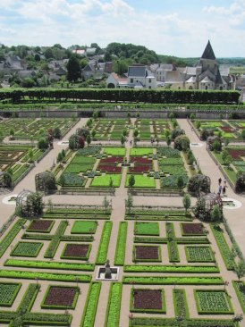 Chateau formal garden