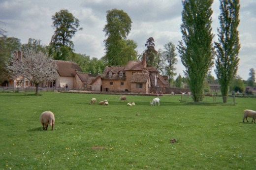 French rural scene