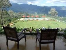Mandulkelle Tea and Eco Lodge view to swimming pool